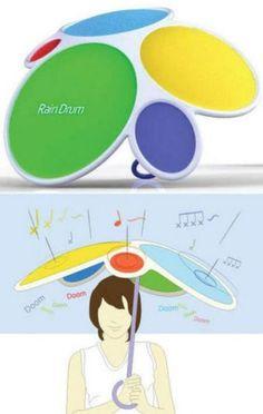 Paraguas que hace musica