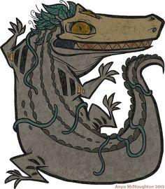 SHIRT - Miwitu the Crocodile by TastesLikeAnya on deviantART