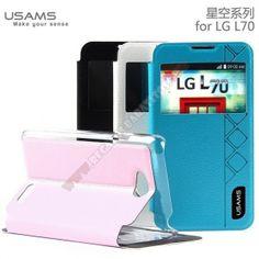 Funda diseño ventana usams calidad para LG L70