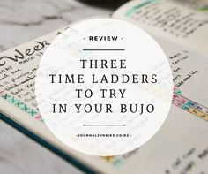 Have you heard of time ladders or time bars? Some Bullet Journalists swear by them, including Kara from Boho Berry . They can be great for prioritising your time or tracking where you spend it. Most of them are colour-coded and are used in daily spreads – but that didn't stop us trying to incorporate them …
