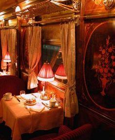 A Dining Car on the Orient Express http://www.google.com/imgres?q=interior+trenes+lujo&hl=es&client=safari&sa=X&tbo=d&rls=en&biw=1440&bih=726&tbm=isch&tbnid=EQ_LxChLbQieiM:&imgrefurl=http://www.lavozdigital.es/cadiz/v/20120416/cadiz/andalucia-recupera-tren-lujo-20120416.html&docid=8Nn5eu3mAUfkAM&imgurl=http://www.lavozdigital.es/cadiz/prensa/noticias/201204/16/fotos/4200535.jpg&w=300&h=365&ei=yQjJUPuqJYKo8gSW2YCgAQ&zoom=1&iact=hc&vpx=1213&v