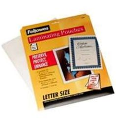 Royal Sovereign 3 Mil 11 1 4 H X 8 3 4 W Laminating Pouches Scr 003 Products Letter Size Letter Size Paper Lettering