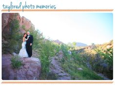 Post Wedding Session   Las Vegas Elopement   Aria Chapel   Red Rock Canyon