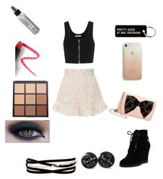 """""""Slightly rebellious"""" by autumnpieper on Polyvore featuring Tome, T By Alexander Wang, Betsey Johnson, MICHAEL Michael Kors, Various Projects, Rebecca Minkoff, Kenneth Jay Lane, Too Faced Cosmetics, Morphe and Lapcos"""