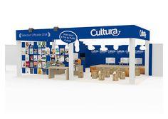 Atelier W110   CULTURA - Conception et réalisation de l'espace de la sélection officielle CULTURA du Festival Internationnal de la Bande Dessinée
