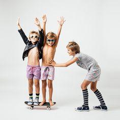 Boxers niños estampados. A la venta en www.tothemoon.es