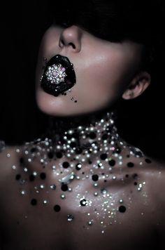 Photographer: M.W Makeup: Marika D'Auteuil Hair: Kim Cutanec Model: Line Vanille