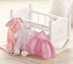 Badger Basket Royal Pavilion Doll Crib With Canopy And