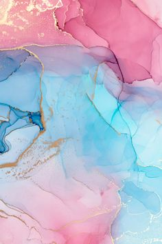 Blue Pink Gold Marble Backdrop,Abstract Colorful Background,Modern Art,Paint Marble Texture