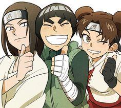 Lee Naruto, Neji And Tenten, Naruto Sasuke Sakura, Naruto Comic, Naruto Cute, Naruto Funny, Naruto Shippuden Anime, Rock Lee, Otaku Anime