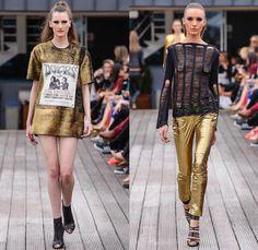 Pat Pat's by Patricia Viera 2014 Winter Womens Runway Collection - São Paulo Fashion Week Brazil - Inverno 2014 Mulheres Desfiles - Rock n R...