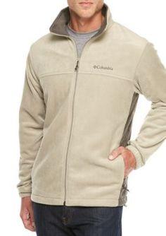 Columbia Men's Steens Side Splice Fleece Jacket - Tusk/Buffalo - 2Xl