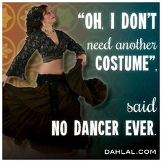 lol that's so true! I'm always on the lookout for new costume pieces