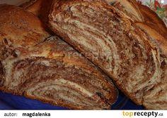 Čokoládový vrstvený pletenec recept - TopRecepty.cz