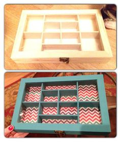 Jewelry organizer. Hobby lobby $6.99 and scrapbook paper. HOBBY LOBBY HAS EVERYTHING, SHOP THERE