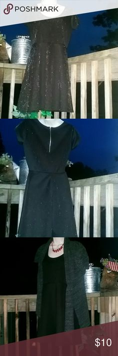 🐱SUPER CUTE LITTLE BLACK BLACK DRESS Everyone needs one! Just your very simple little black dress.  Flare bottom zipper back. Can be paired with ANYTHING! please make an offer! HAPPY POSHING ?MY LOVE TO YOU! Dresses Midi