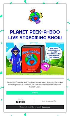 Planet Peek-A-Boo Live Streaming Show