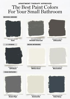 Here are the Best Paint Colors for Your Small Bathroom