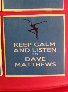 Dreaming Tree DMB Coasters Can be Customized to your liking- Set of 4- Bonus Gift Just for ordering.