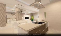 cozinha integrada com a sala de jantar - Pesquisa Google