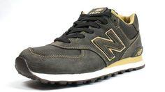 detailed look e15bb 15320 New Balance ML574 LBT – Brown – Gold - SneakerNews.com. Zapatillas De  Deporte De Color AmarilloZapatos De HombreNew Balance