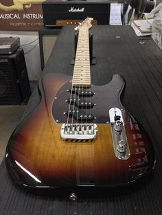 G&L Musical Instruments ASAT Z-3 in 3-Tone Sunburst over alder, front contour, tortoise guard, maple neck with Clear Satin finish