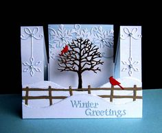 About Xmas Cards Handmade Winter Scenes 41 - sitihome Christmas Cards 2017, 3d Christmas, Homemade Christmas Cards, Xmas Cards, Handmade Christmas, Homemade Cards, Holiday Cards, Creative Christmas Cards, Christmas Sayings