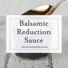 Reduction Sauce Easy Balsamic Reduction Sauce takes any meal from boring to sophisticated! Two ingredients and it is ready in just minutes! The In Sound from Way Out! The In Sound from Way Out! may refer to: Balsamic Reduction Recipe, Balsamic Glaze Recipes, Cooking Time, Cooking Recipes, Healthy Recipes, Easy Recipes, Basalmic Glaze, Balsamic Vinegarette, Fresh Tomato Recipes