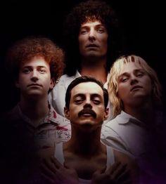 The Bohemian Rhapsody boys 😍 Queen Movie, Queen Ii, Queens Wallpaper, Roger Taylor, Ben Hardy, Def Not, Greatest Rock Bands, We Will Rock You, Rami Malek