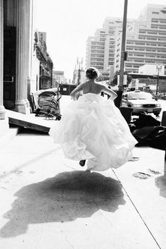 - runaway bride...  This better NOT be you!