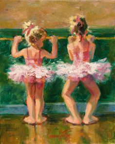 This brings me back to my children and my neighbor, Debbie, and I taking ballet lessons together.  (I would have been the taller one.)