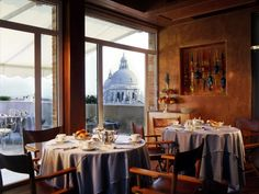 Settimo Cielo rooftop restaurant at Bauer Il Palazzo in Venice #zimmermanngoesto