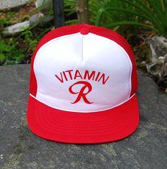 Vtg 80 s Rainier Beer Trucker Hat Snapback by EmeraldCityRetro Rainier Beer b3d3f3643588