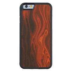 Shop Liquid Fire by Shirley Taylor Carved Wood iPhone Case created by ShirleyTaylor. Apple Iphone 6, Wood Print, Iphone Case Covers, Natural Wood, Vivid Colors, Carving, Fire, Crafts, Trends
