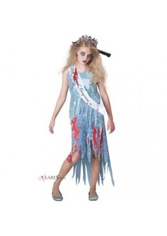Homecoming Horror Tween Zombie Costume