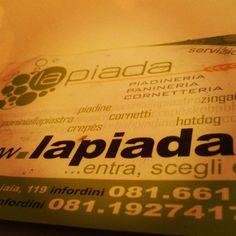 Lapiada a Napoli, per quattro anni, due lunedì al mese, il mio pranzo :)