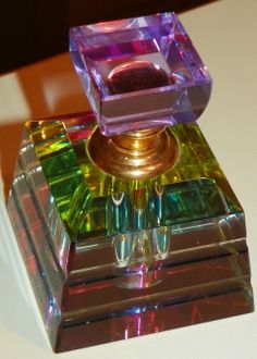 Another fave - Swarovski Crystal Rainbow Perfume Bottle
