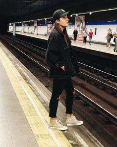 WEBSTA @albapaulfe Aquí en el metro