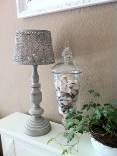 Teelicht Lampe aus Metall auf Anfrage hier unter ambiente-home@mail.de