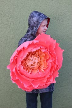 Fiore gigante di carta crespa decorazioni per di MyWoollyMammoth