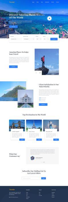 Travel Agency Website >> 20 Best Travel Agency Website Images In 2018 Web Design Web
