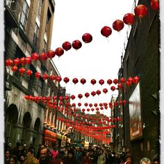 Chinese new year, London 2012