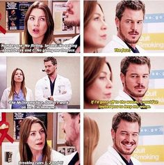 Meredith and McSteamy.