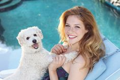 Actress Rachelle Lefevre has adopted 3 shelter dogs, and filmed a PSA for Best Friends Animal Society