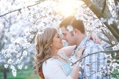 Gorgeous Spring themed Engagement Session ~Joleen Willis Photography