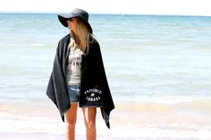 Province of Canada - Visuals: Summer 2014 - Grey Tank and Black Beach Towel