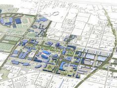 Master Plan Rendering   Tipton Associates Architecture   Planning   Interiors