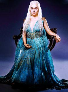 Daenerys Targaryen (Emilia Clarke) in Game of Thrones.