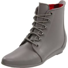 For those of us that can't wear rain boots!   LOEFFLER RANDALL Women`s Rain Bootie Ankle Boot,Grey,8 M US $133.65