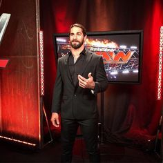 Head over to @espn @sportscenter RIGHT NOW as @wwerollins joins #TheCoach on #ESPNews!